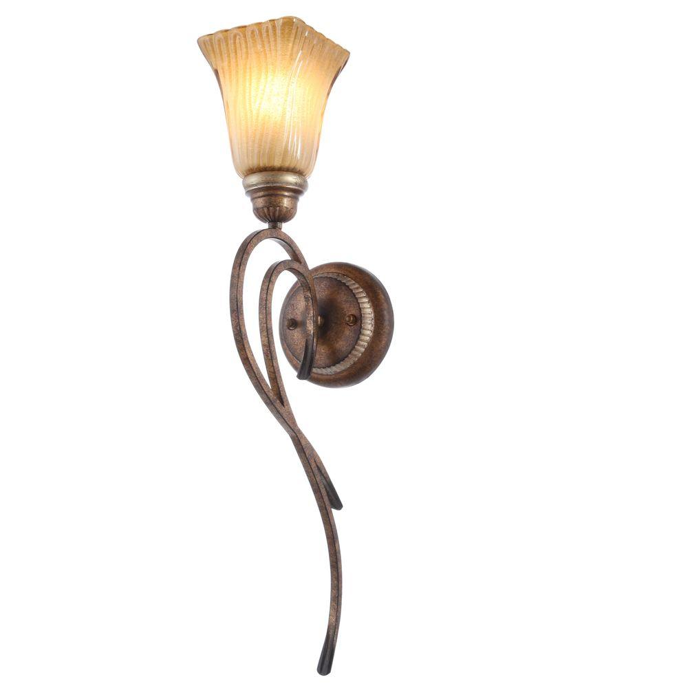 Creme Brulee 1-Light Kendallwood Sconce