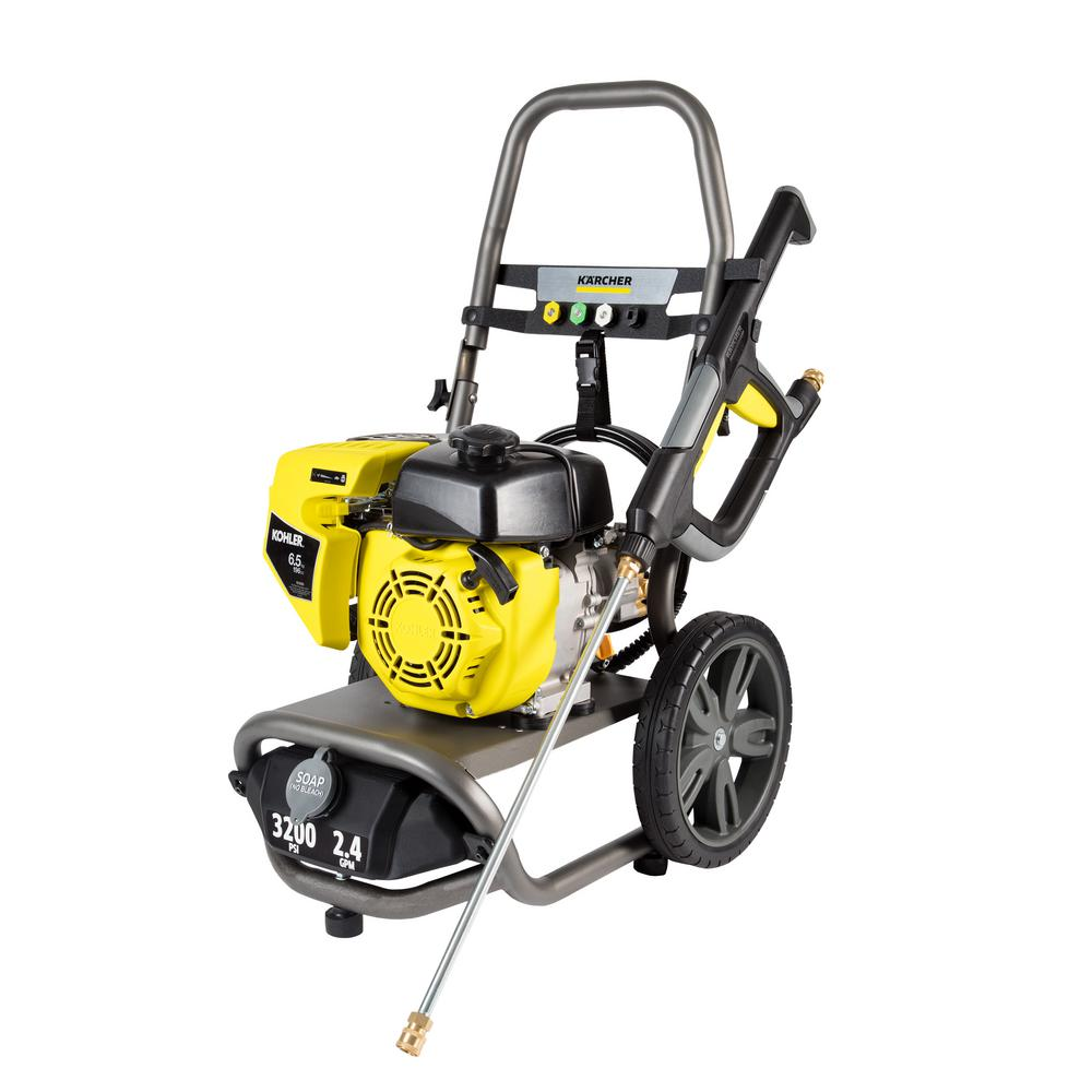 Karcher 3200 PSI 2.4 GPM Gas Pressure Washer with Kohler Engine, Axial Pump and VG Trigger Gun