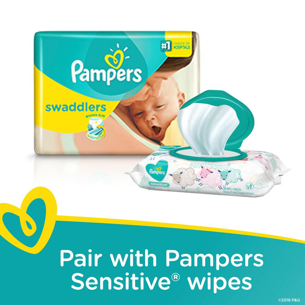 f119d87502b5 Pampers Swaddlers Size 2 Diapers (84-Count)