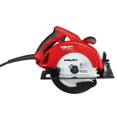 WSC 7.25-S 15 Amp 7-1/4 in. Circular Saw