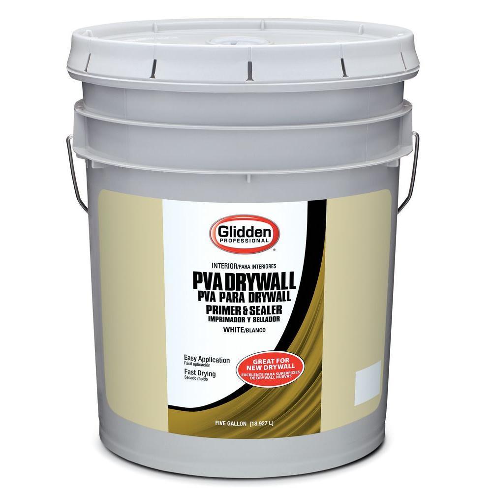 Glidden PVA 5 gal PVA Drywall Interior PrimerGPD000005 The