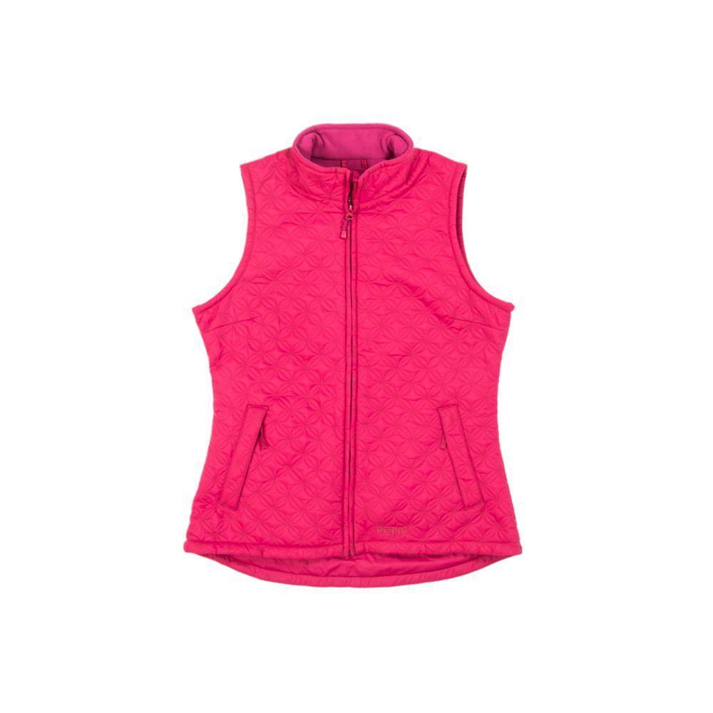 Berne Women's Small Pomegranate Nylon Trek Vest