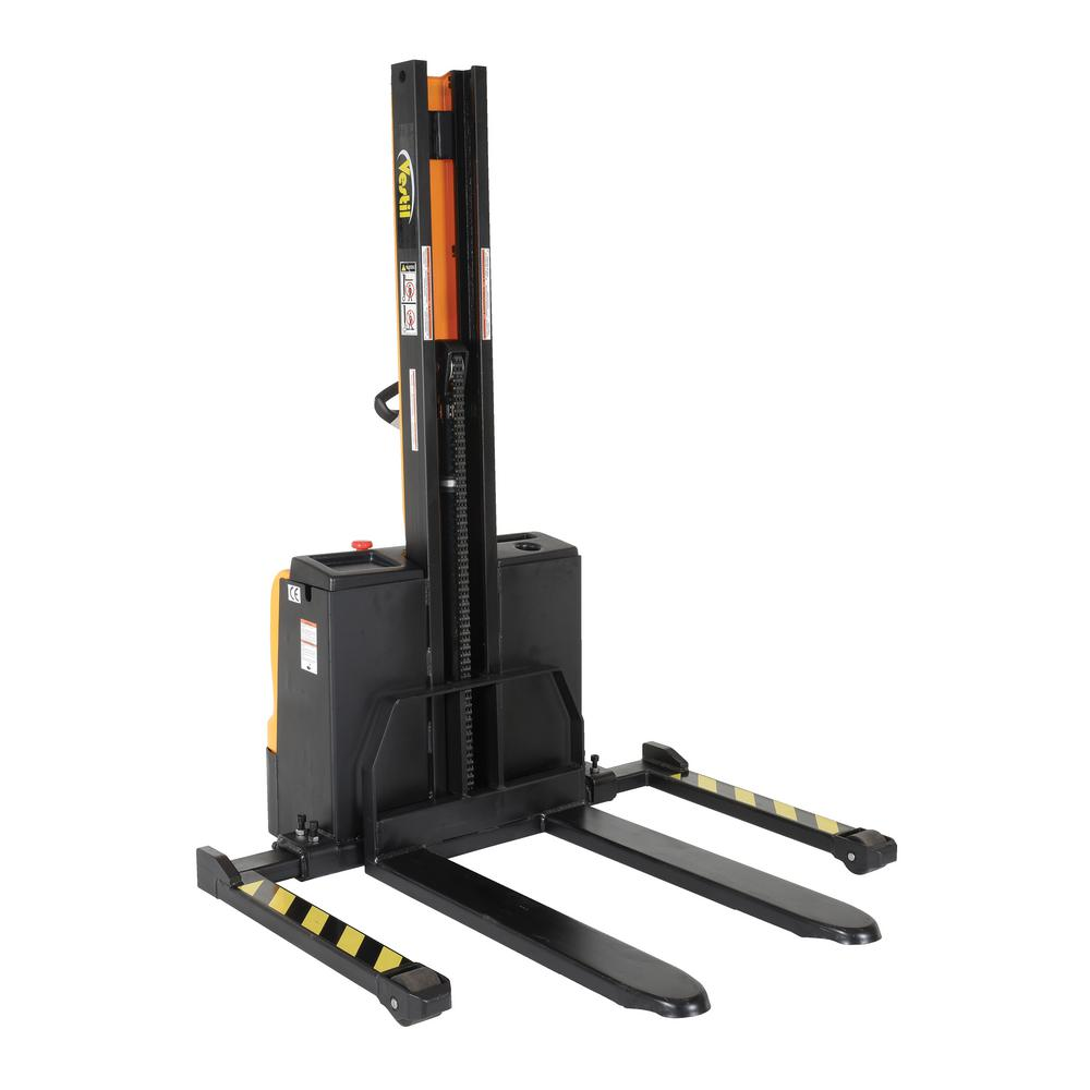 Vestil 62 In Narrow Mast Stacker With Power Lift