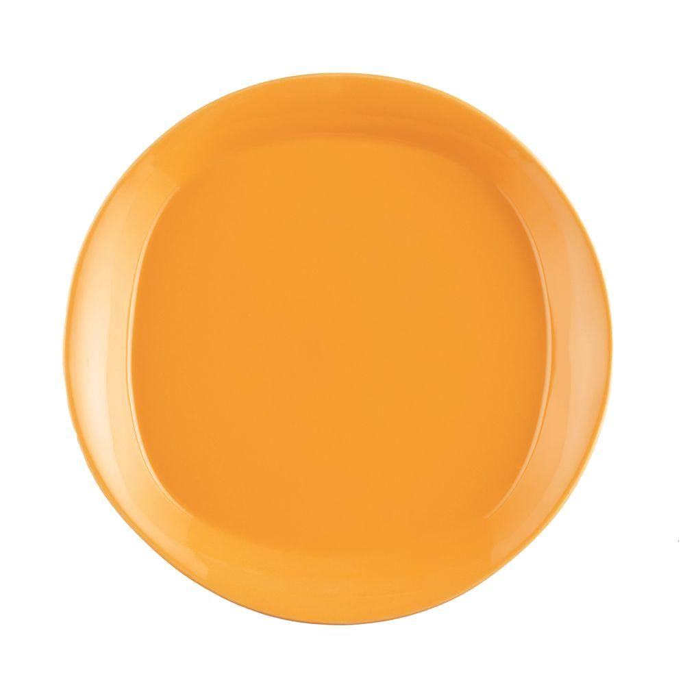 Rachael Ray Round and Square 4-Piece Salad Plate Set in Lemon Zest  sc 1 st  Home Depot & Rachael Ray Round and Square 4-Piece Salad Plate Set in Lemon Zest ...