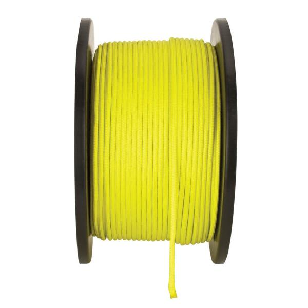 1/8 in. x 500 ft. High Visibility Paracord Rope in Yellow