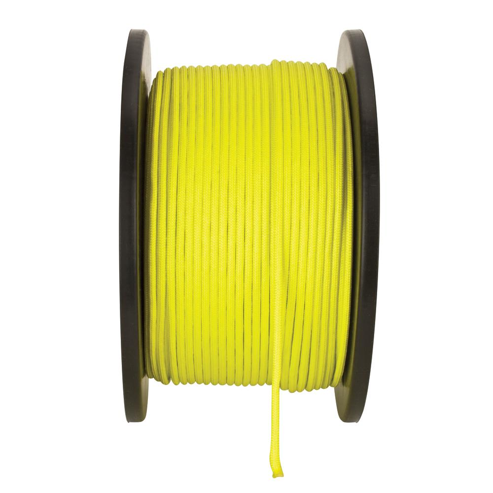 1/8 in. x 500 ft. High Visibility Yellow Paracord
