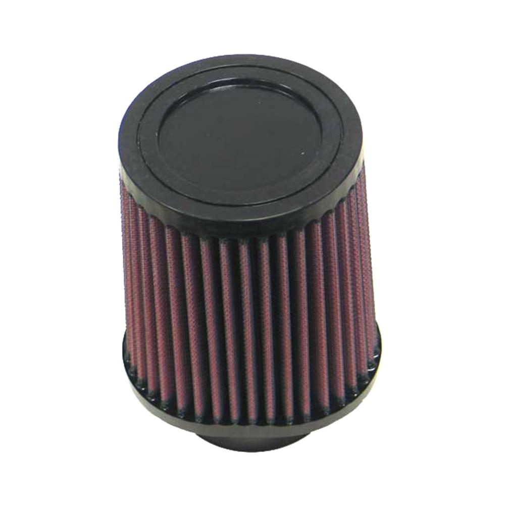 K&N Filter 2 3/4 inch Flange 4 3/4 inch x 3 3/4 inch Base 4 inch Top 5 9/16 inch Height