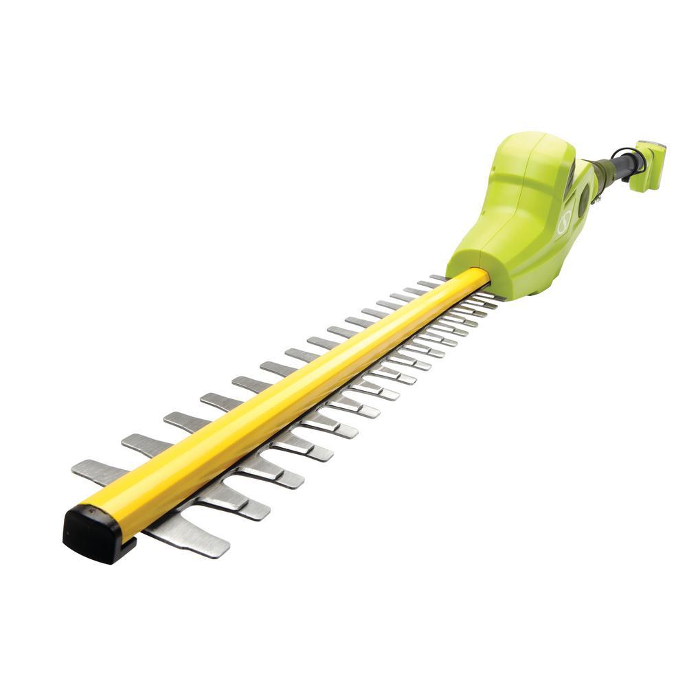 2 Ah 20-Volt Cordless Electric Pole Hedge Trimmer