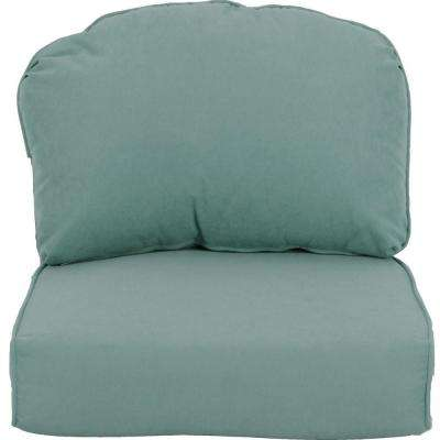 Lily Bay-Lake Adela Surf Replacement Outdoor Lounge Chair Cushion