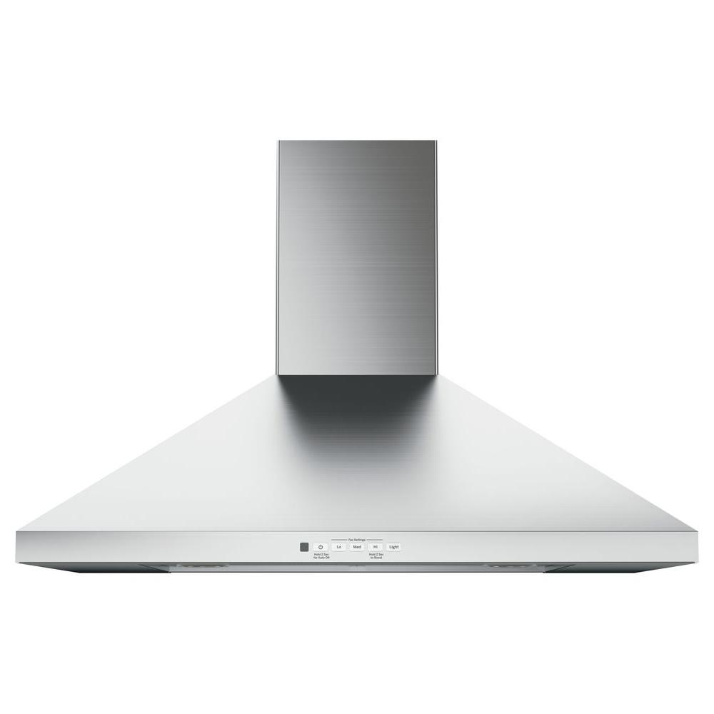 Charmant Convertible Chimney Range Hood In Stainless Steel