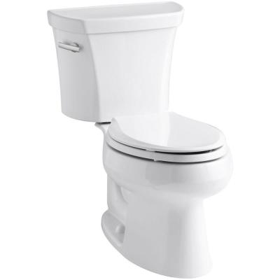 Wellworth 2-piece 1.6 GPF Single Flush Elongated Toilet in White