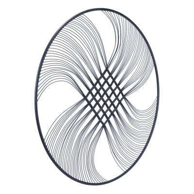 Metal Inigo Round Wall Decor