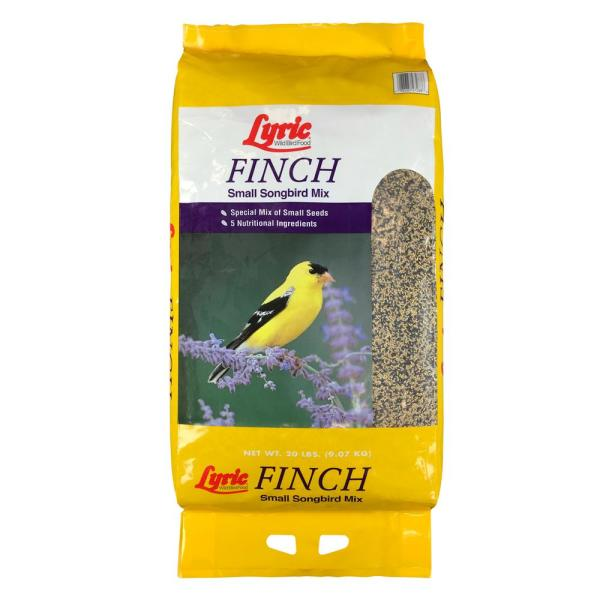20 lbs. Finch Small Songbird Wild Bird Mix