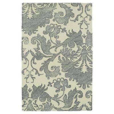Montage Grey 9 ft. x 12 ft. Area Rug