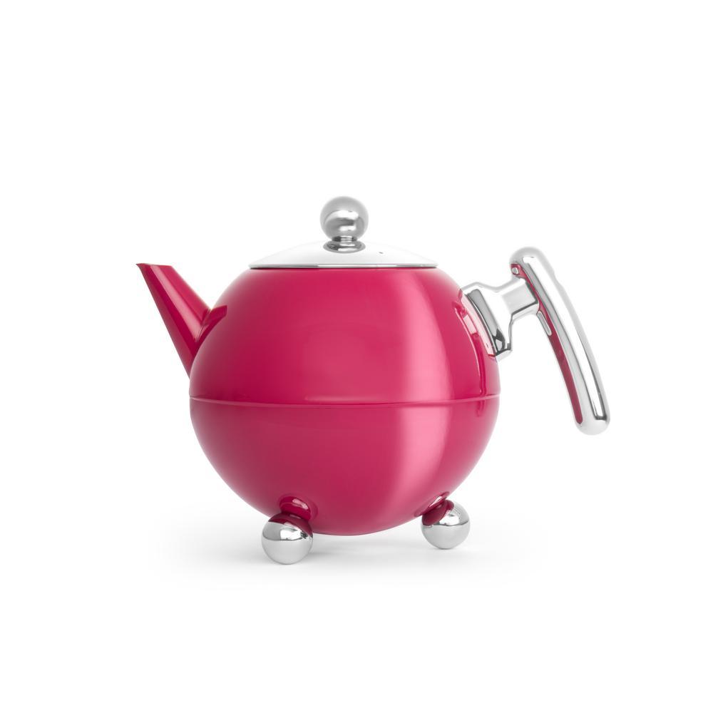 41 fl. oz. Fuchsia Belle Ronde Teapot