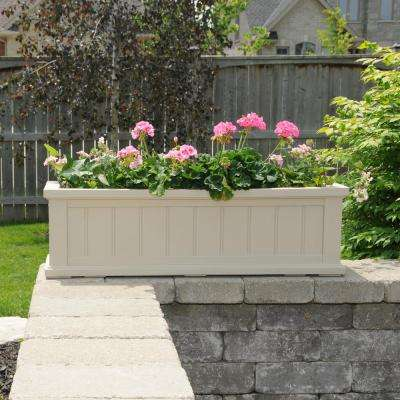 11 in. x 48 in. Clay Cape Cod Window Box