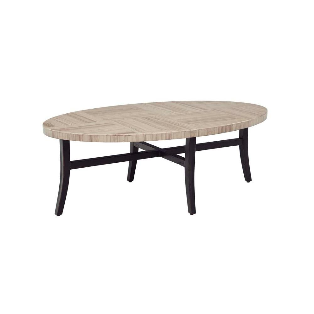 Brown jordan greystone patio coffee table stock dyt005 tc the home depot Patio coffee tables