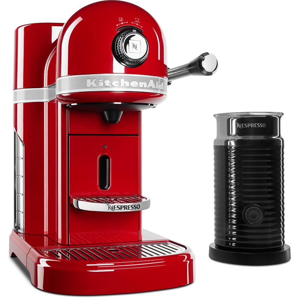 Nespresso 5-Cup Espresso Machine and Milk Frother