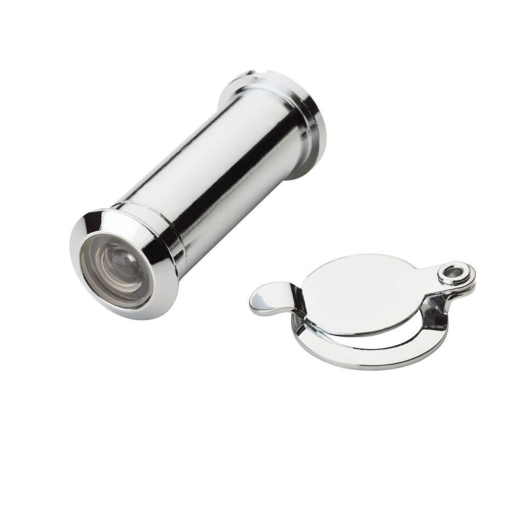 Accent Builders Hardware 200 Degree Polished Chrome Door