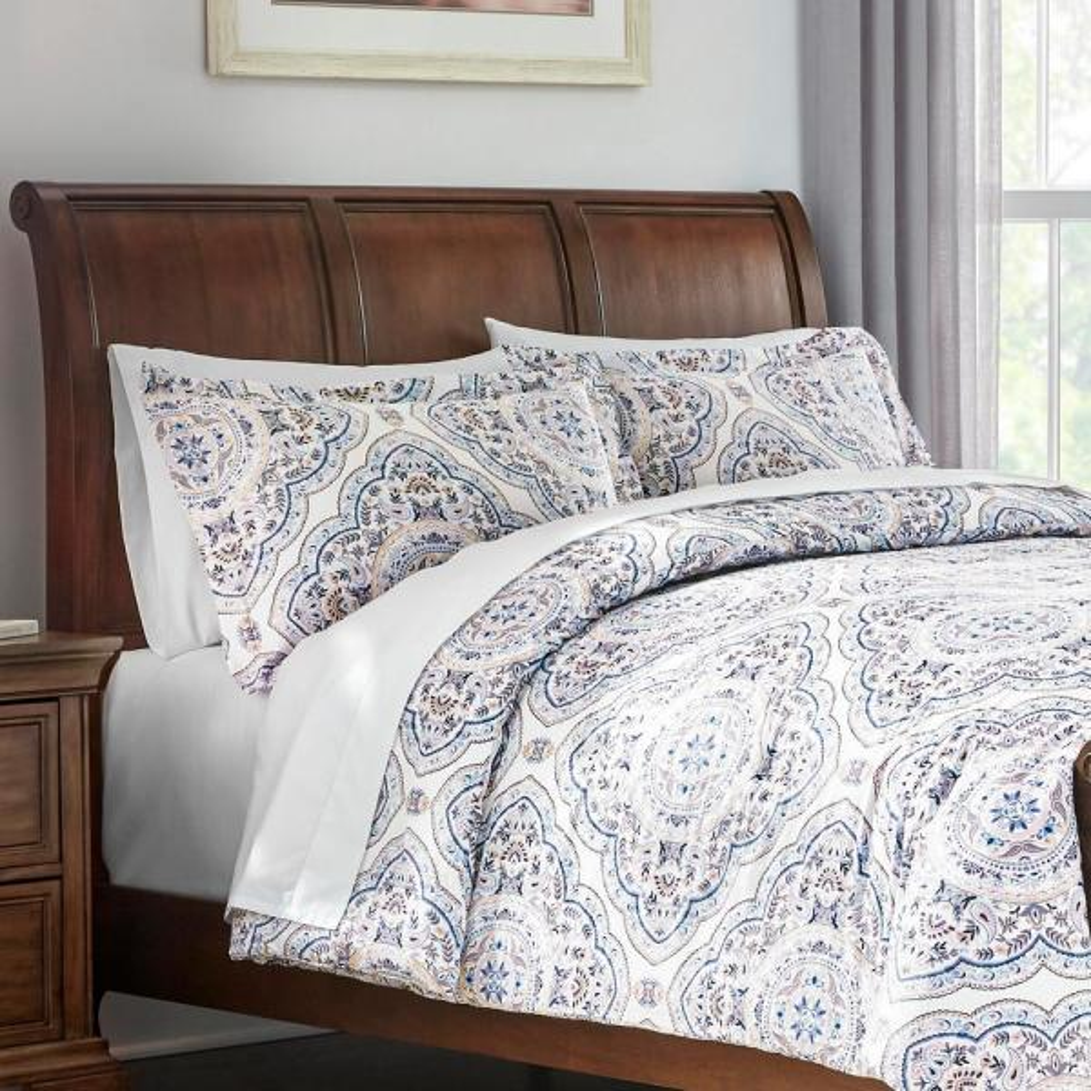 Alana 3-Piece Medallion King Comforter Set