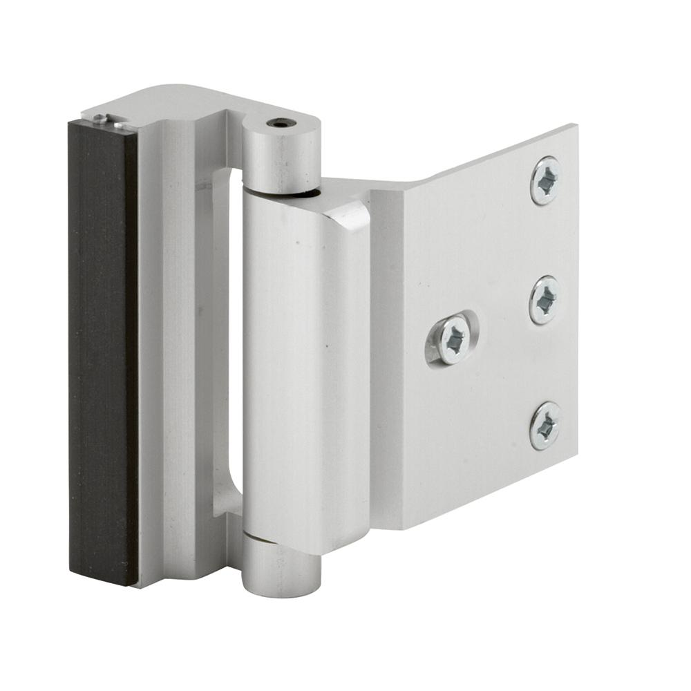 Prime Line Satin Nickel Door Blocker Entry Door Stop U 10827 The Home Depot