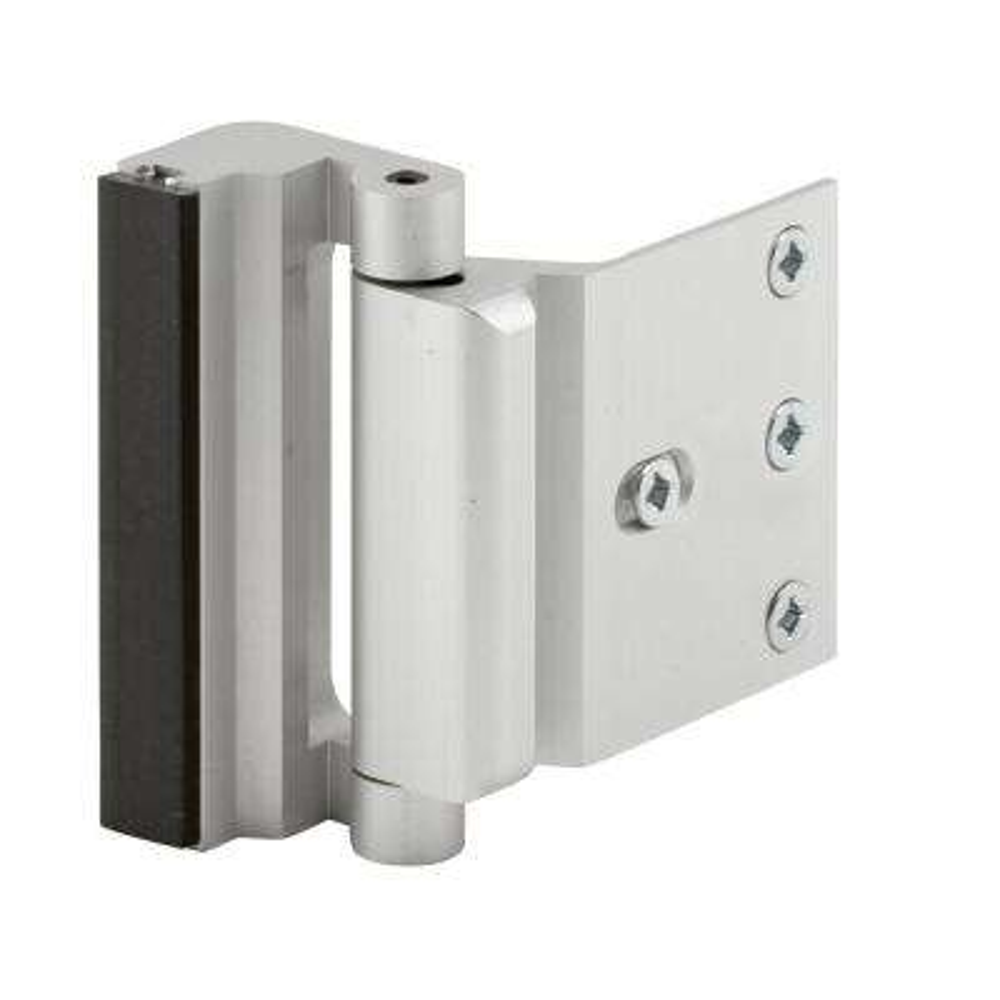 Satin Nickel Door Blocker Entry Door Stop