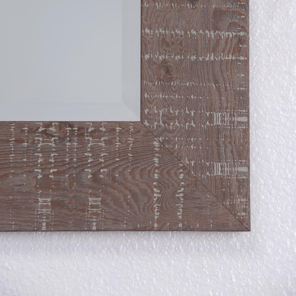 Internet 206526104 Yosemite Home Decor Mirror With Wood Frame