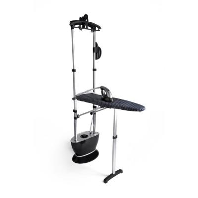 Clothing Steamer and Iron in 1 with Built-in Teflon Plated Ironing Board and Foot Pedal for Easy On-Off Use