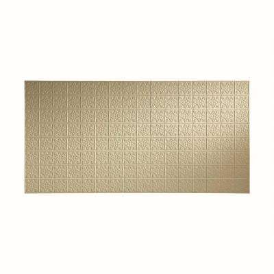 96 in. x 48 in. Traditional 1 Decorative Wall Panel in Fern