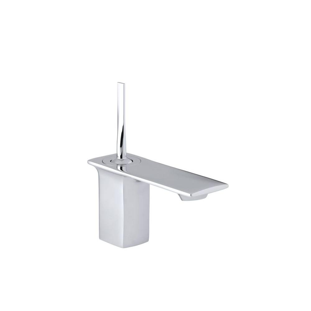 KOHLER Stance Single Hole Single Handle Low-Arc Bathroom Faucet in ...