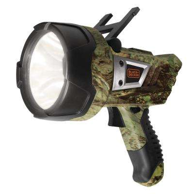 5-Watt LED Plus USB Lithium-Ion Rechargeable Camo Spotlight