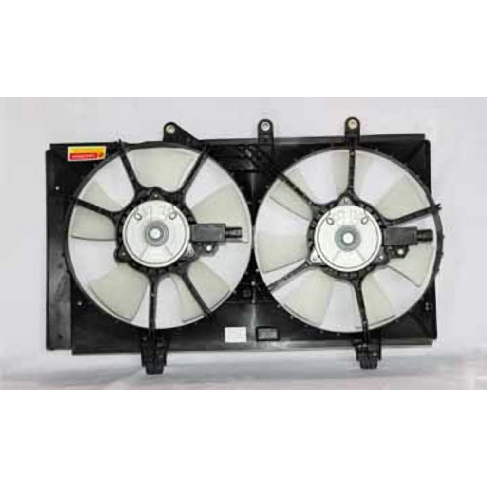 Dual Radiator and Condenser Fan Assembly TYC 621160