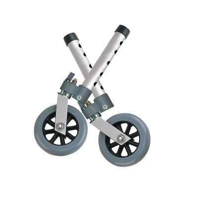 Pair of Swivel Lock Walker Wheels
