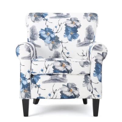 Groovy No Additional Features Wood Floral Accent Chairs Andrewgaddart Wooden Chair Designs For Living Room Andrewgaddartcom