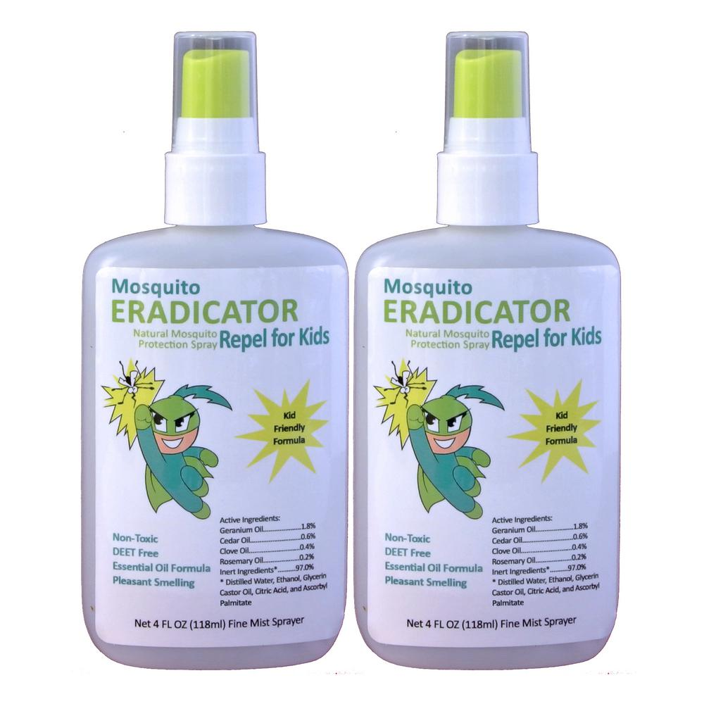 Eradicator Mosquito Repel For Kids Non Toxic And Natural Kid S Strength Repellent Protection Spray