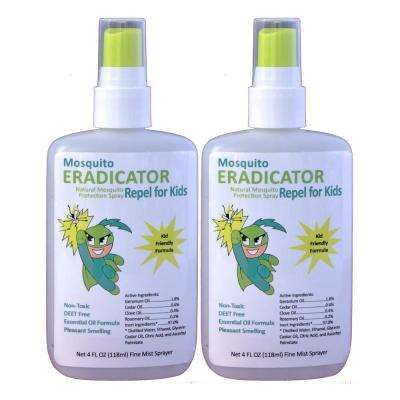 Mosquito Repel for Kids Non-toxic and Natural Kid's Strength Repellent and Protection Spray (2-Pack)