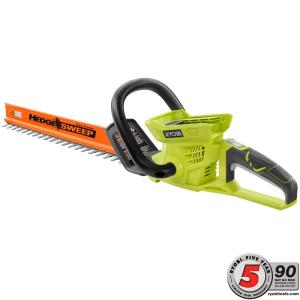 Ryobi 24 inch 40-Volt Lithium-Ion Cordless Hedge Trimmer - Battery and Charger Not Included by Ryobi
