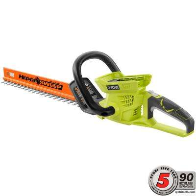 24 in. 40-Volt Lithium-Ion Cordless Hedge Trimmer - Battery and Charger Not Included