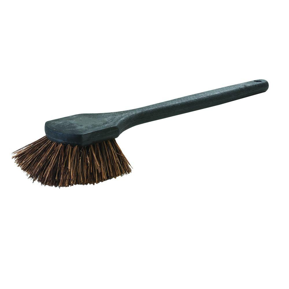 20 in. Stiff Palmyra Fiber Utility Scrub Brush (Case of 12)