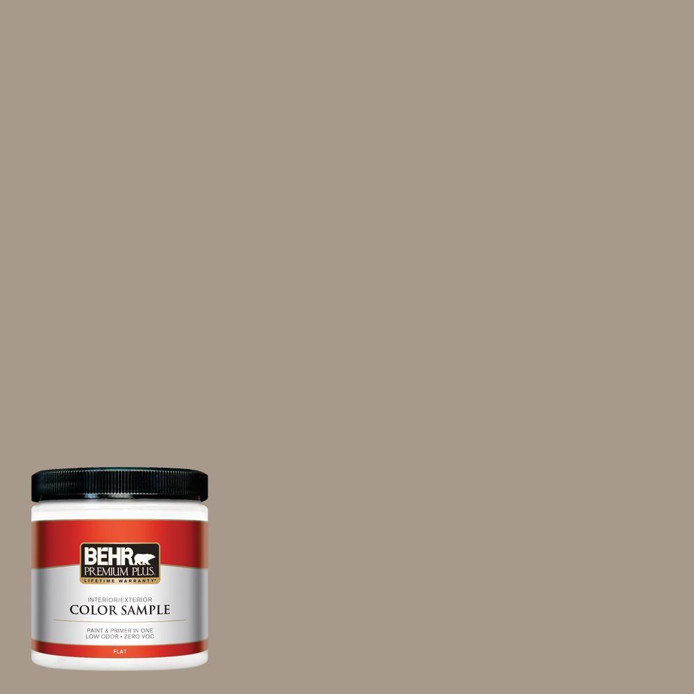 8 oz. #BXC-10 Warm Stone Interior/Exterior Paint Sample