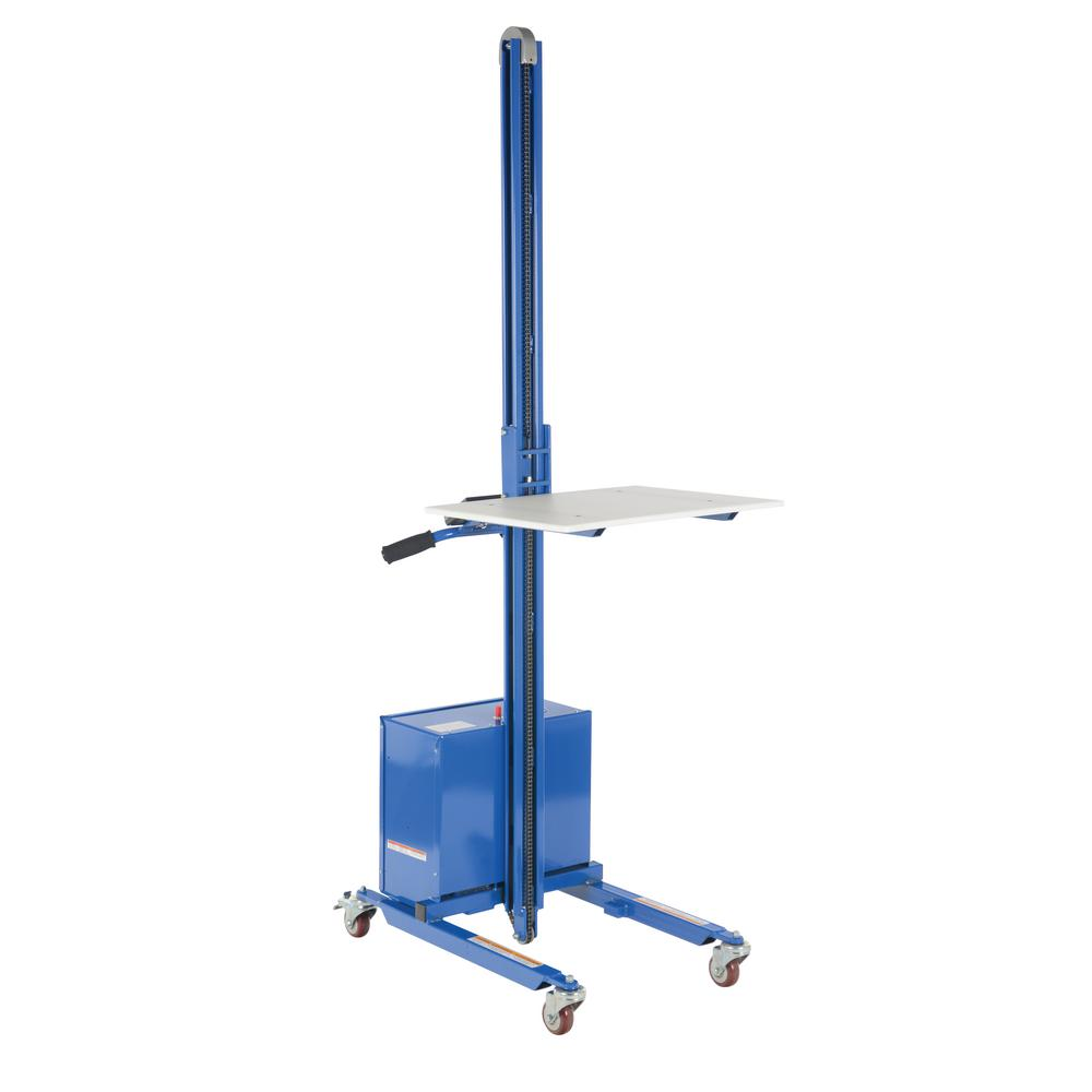 125 lb. Capacity DC Powered Steel Quick-Lift