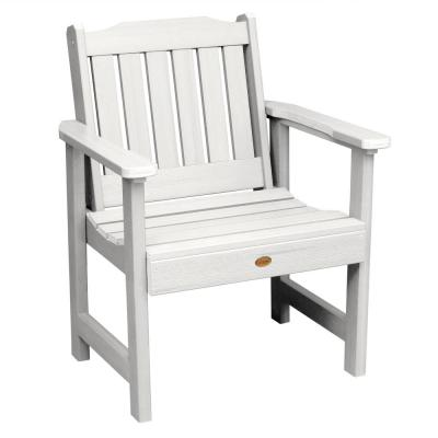 Lehigh White Recycled Plastic Outdoor Lounge Chair