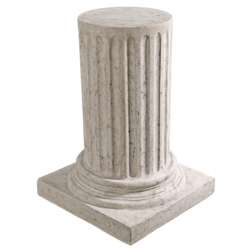 25 in. H Roman Column Plinth