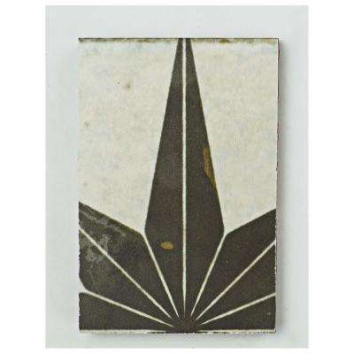 Kings Star Nero Ceramic Floor and Wall Tile - 3 in. x 4 in. Tile Sample