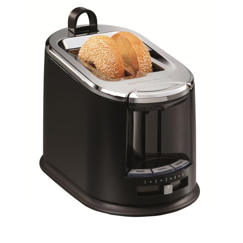 Hamilton Beach 2-Slice Toaster in Black-DISCONTINUED