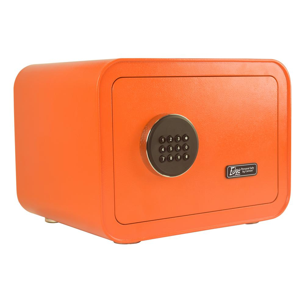 Edge Series 0.86 cu. ft. Electronic Personal Security Safe in Orange
