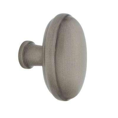 Homestead 1-1/8 in. Antique Pewter Brass Cabinet Knob