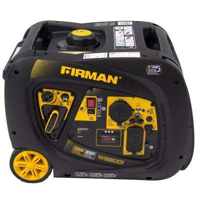 Whisper Series 3000-Watt Gas Powered Electric Start Portable Inverter Generator with Firman Engine