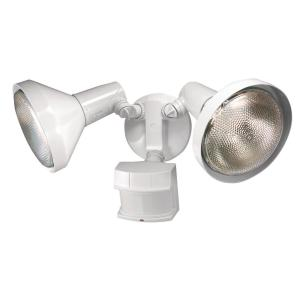 240-Degree White Motion Activated Outdoor Flood Light