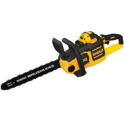 16 in. 40-Volt MAX Lithium-Ion Electric Cordless Chainsaw w/ (1) 7.5 Ah Battery Pack and Charger